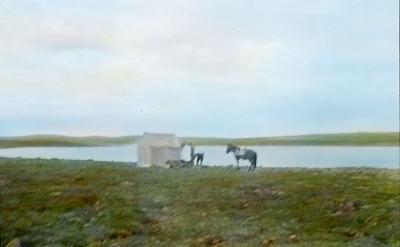 Fra foredragsrekken Landmålerlivet i Finnmark v/Axel Printz : Arbeidsleir i Ullogaissa