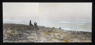 Fra foredragsrekken Landmålerlivet i Finnmark v/Axel Printz : Guorgga sett fra Garesgielas