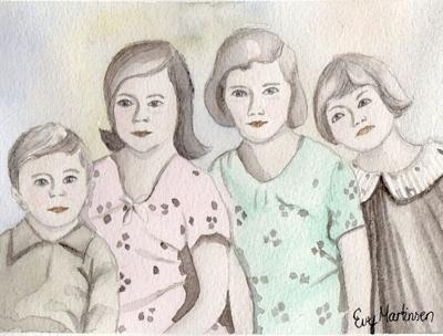 5) Familiebilde - Sparkeføre