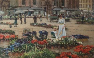 Blomstermarked i Wien