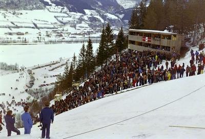 NM på ski i Meldal 1974 Hopp