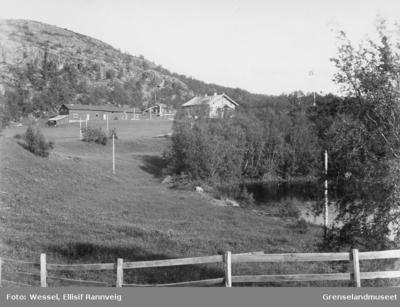 Skogforvalter/lensmann Klerck sitt hus på Elvenes