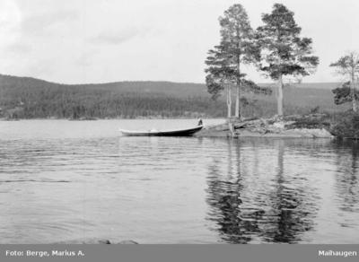 Randsfjorden ved Grimsrud gård