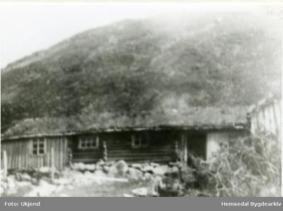 Den gamle stølsbua til Nordre Viljugrein på Kljåen i Hemsedal