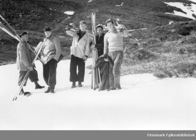 Stikningsarbeide juni 1939