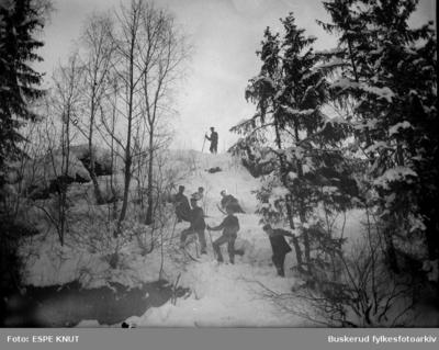 Hopprenn i Livbakken i 1911