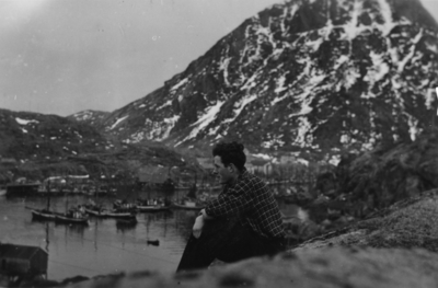 Båter på havna i Lofoten