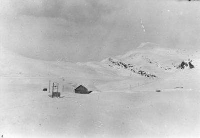 Tappetunnelen for Øvre Navervatn 1952 - 1953