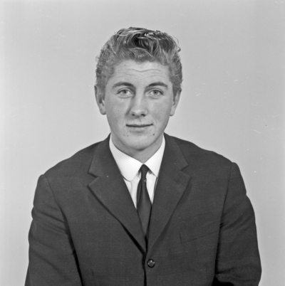 Portrett ung mann - bestiller Roald O