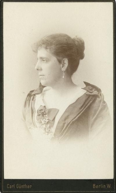Portrett av Elisabet Ethel Witt