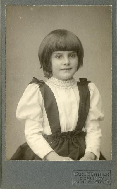 Leonie Witt som barn