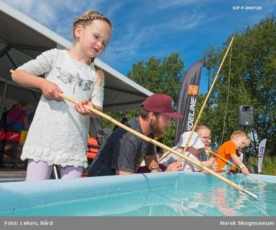 Fra De nordiske jakt- og fiskedager på Norsk Skogmuseum i Elverum i 2016