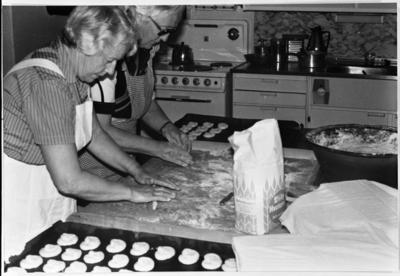Baking av Totenkringler