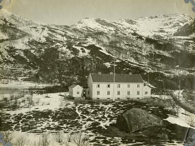 Glomfjord. Bestyrerboligen?