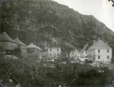 Glomfjord. Funksjonærboliger. Ca. 1917-1918