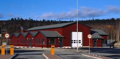 Storskog visitasjonshall, Finnmark