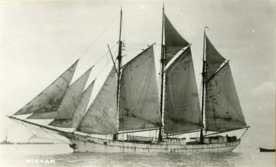 Skonnertskip 'Oceaan' (senere 'Natal' av Grimstad)
