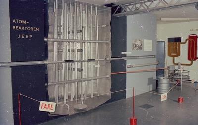 Interiør i Norsk Teknisk Museum