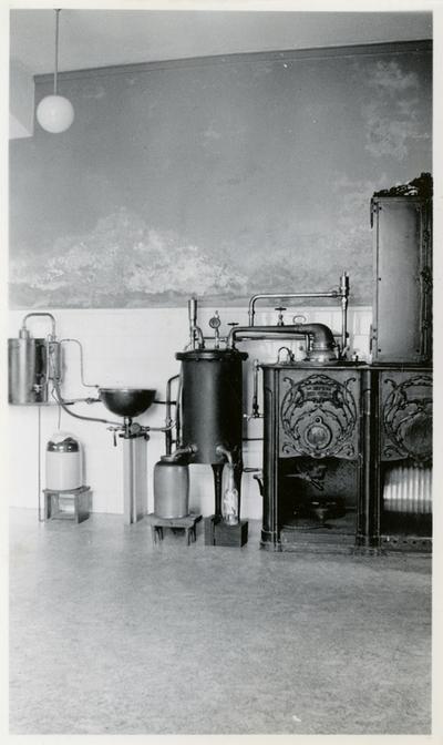 Vanndestillasjonsutstyr