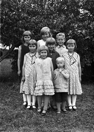 Barn i forskjellig alder