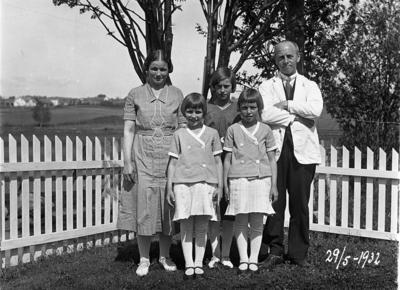 Familien Solem på Lena