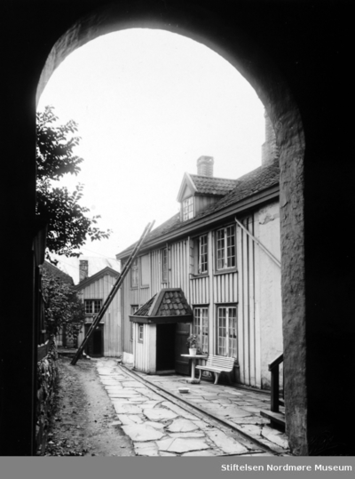 Foto fra Clausengårdens fasade