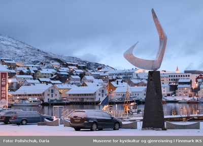 Skulptur Boreas (Nordenvinden)