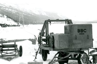 Kabelstrekkemaskin til Oslo Lysverker