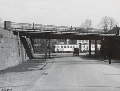 Drammenbanen ved Skøyen