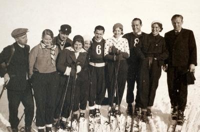 Sigmund Ruud med skivenner