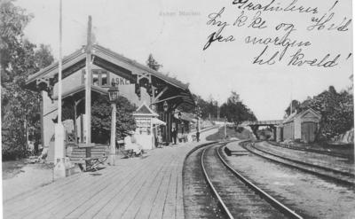 Asker jernbanestasjon