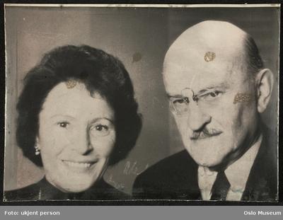 Gerda Ring og Halfdan Christensen.
