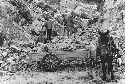 Flaten steinbrudd i Vestre Toten