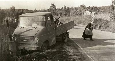Bilulykke Opel lastebil Riksvei 19