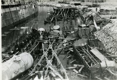 Krigsødeleggelser Narvik havn LKAB eller Fagerneskaia?
