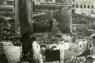 Krigsødeleggelser i Narvik sentrum
