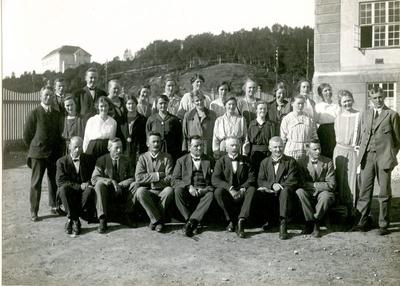 Lærerkollegiet 1924