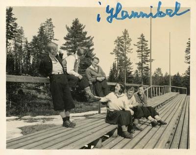 Kongsberg skiløpere i Hannibal