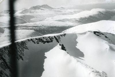Vinterfjell i Rombaken