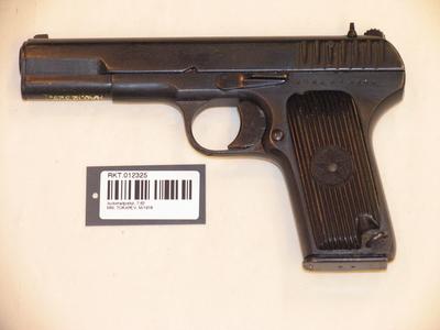 Pistol 9 mm Tokarev TT33
