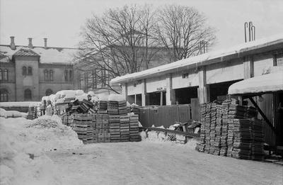 Nybygg på E.C. Dahls bryggeri