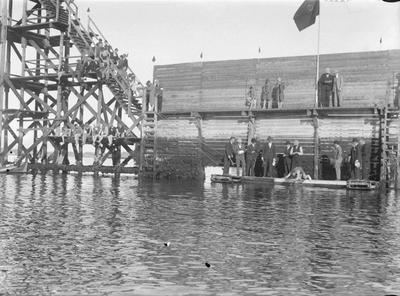 Svømmestevne i Ilsviken før 1935
