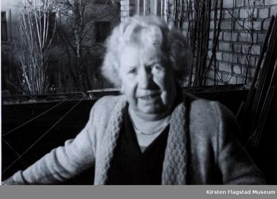 Kirsten Flagstads mor Marie Flagstad