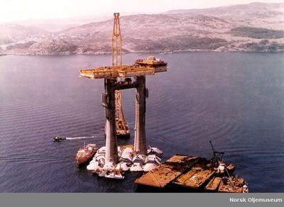 TP1 under bygging i Skottland