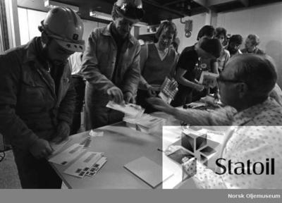 Statfjord A-frimerke ble lansert 5