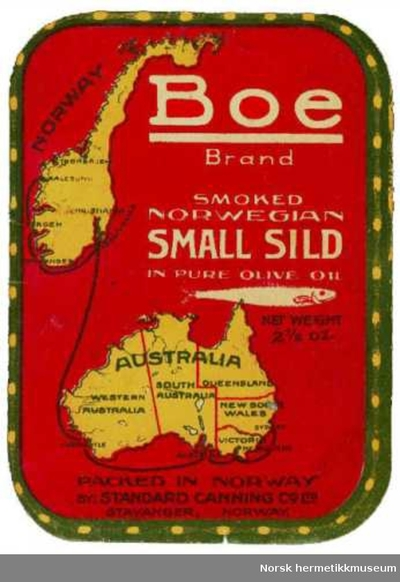 Etikett Boe Australia