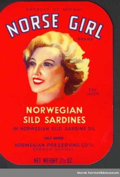 Etikett Norse Girl