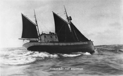 Fiskarbåt frå Bulandet