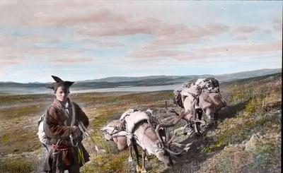 Fra foredragsrekken Landmålerlivet i Finnmark v/Axel Printz : Fjellsame på flyttefot