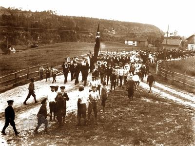 Folkeavstemningen i Gjemsø skolekrets 13 august 1905